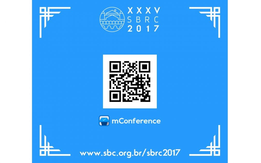 Aplicativo Oficial do SBRC 2017: mConference