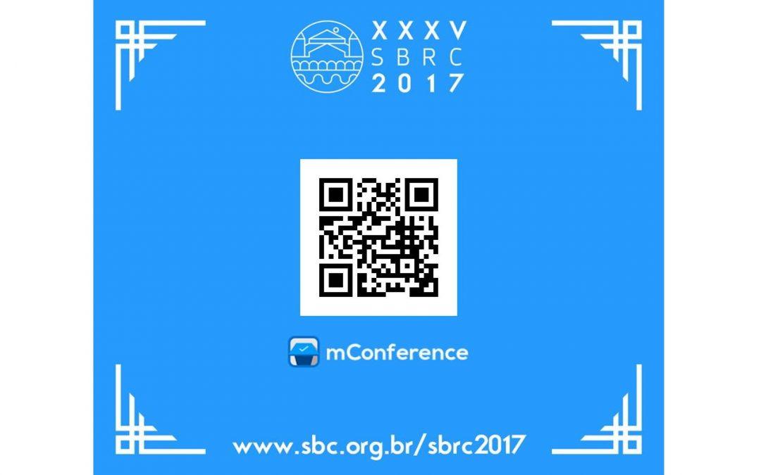 Aplicativo Oficial do SBRC 2017: mConference