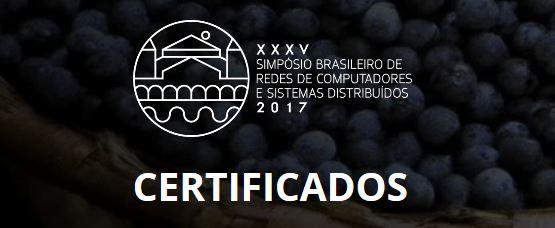 Certificados SBRC 2017